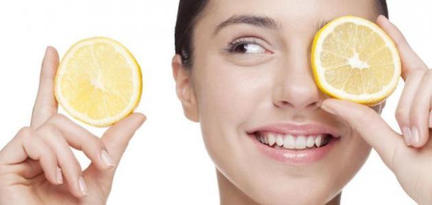 صورة فوائد الليمون للبشرة السمراء