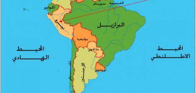 صورة أين تقع التشيلي