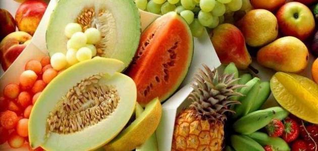 صورة بحث عن فوائد الفواكه والخضروات