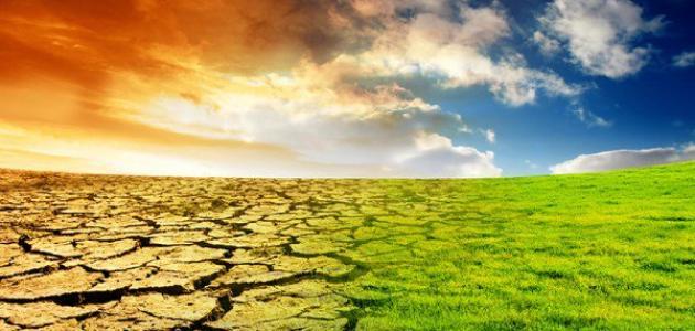 صورة تأثير ارتفاع درجة حرارة كوكب الأرض
