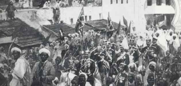 صورة مدينة طنجة في عهد الحماية