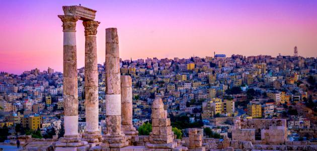 صورة ما عاصمة الأردن