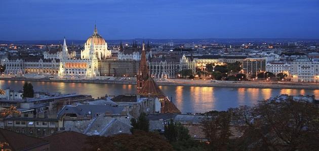 صورة أين تقع بودابست