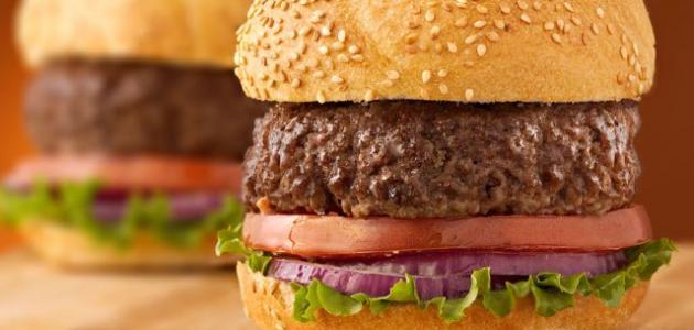 صورة طريقة عمل برجر اللحم