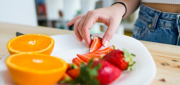 صورة نظام غذائي صحي يومي