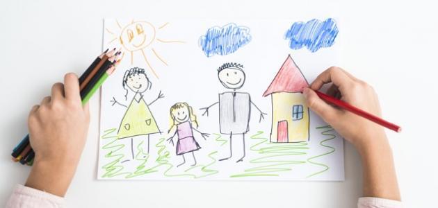 صورة تحليل رسومات الأطفال نفسياً