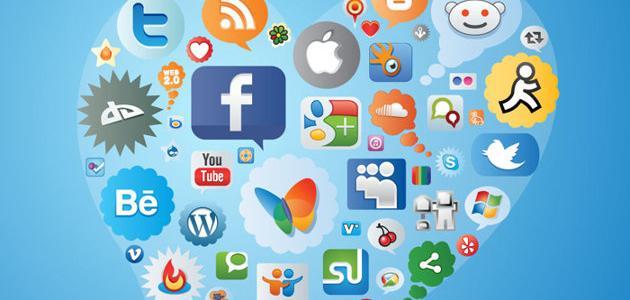 صورة أنواع مواقع التواصل الاجتماعي