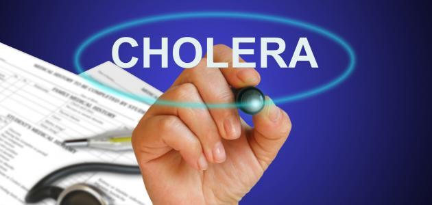 صورة كيفية انتقال مرض الكوليرا