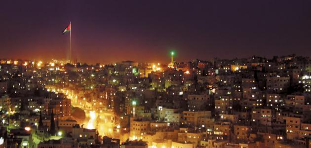 صورة أين تقع عمان