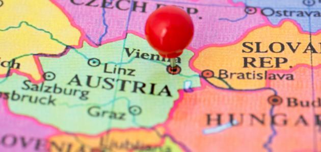 صورة أين تقع فيينا