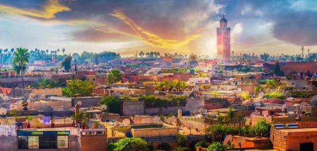 صورة تعريف بمدينة مراكش