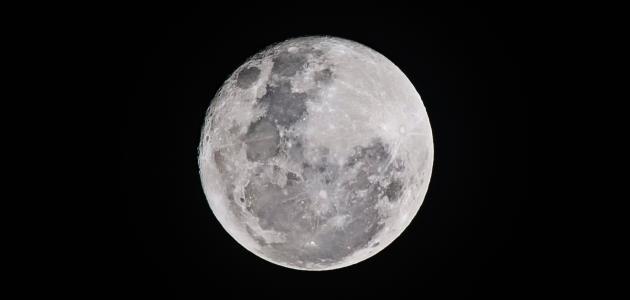 صورة لماذا القمر مضيء