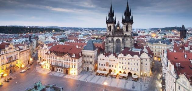 صورة السفر إلى التشيك