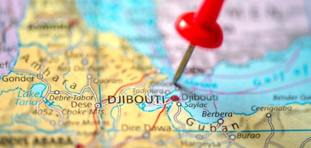 صورة أين تقع جيبوتي