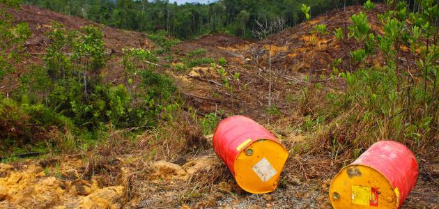 صورة جديد أسباب تلوث التربة