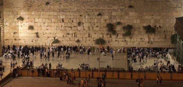 صورة جديد سبب تسمية حائط البراق بهذا الاسم