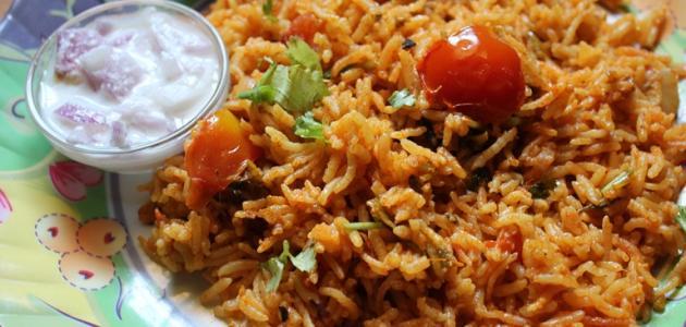 صورة جديد طريقة عمل الأرز بالخلطة بالسكر المحروق