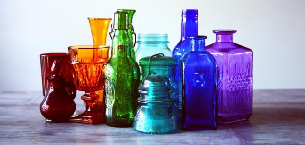 صورة جديد ما هي مكونات الزجاج