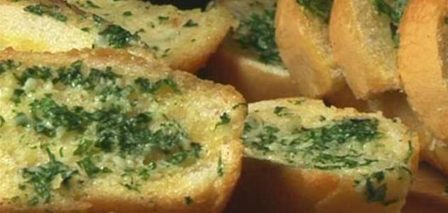 صورة جديد طريقة عمل خبز بالثوم والجبن