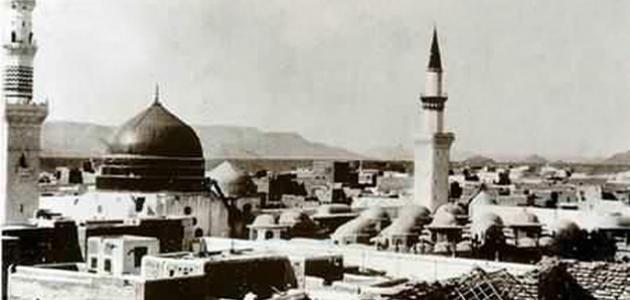 صورة جديد المدينة المنورة قديماً