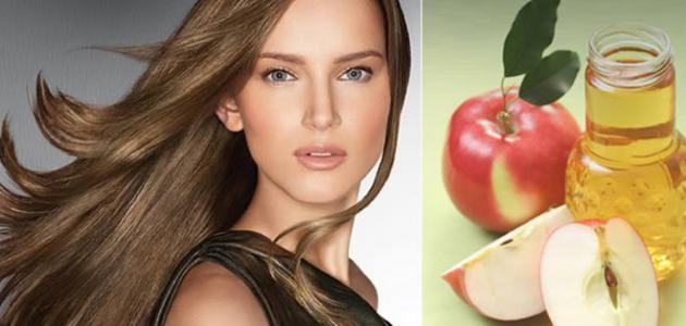 صورة جديد فوائد خل التفاح للشعر الجاف