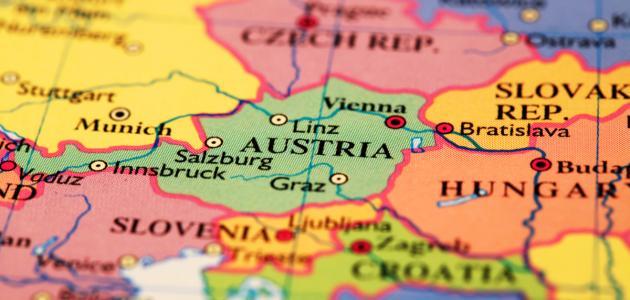 صورة جديد أين تقع النمسا