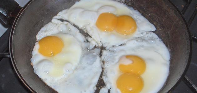 صورة جديد طريقة قلي البيض