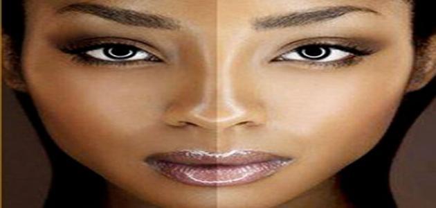 صورة جديد كيف تغير لون بشرتك
