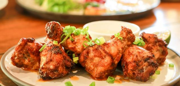 صورة جديد أكلات بأفخاذ الدجاج