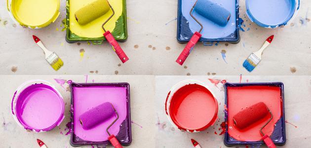 صورة جديد كيفية مزج الألوان لطلاء الجدران