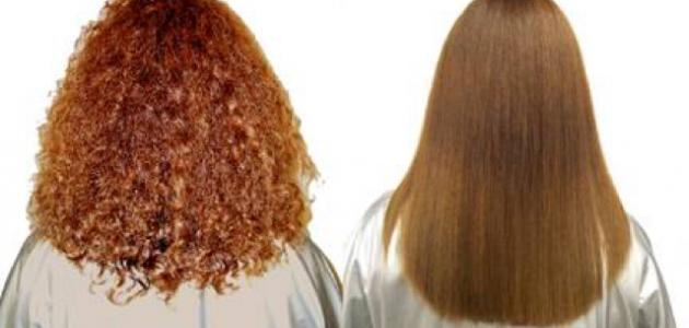 صورة جديد طرق فرد الشعر بالنشا