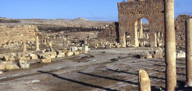 صورة جديد وصف موقع أثري في تونس