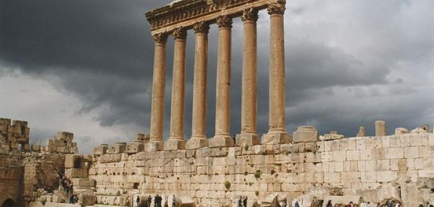 صورة جديد آثار بعلبك في لبنان