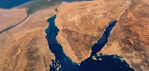 صورة جديد مساحة شبه جزيرة سيناء