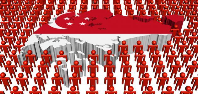صورة جديد عدد سكان سنغافورة