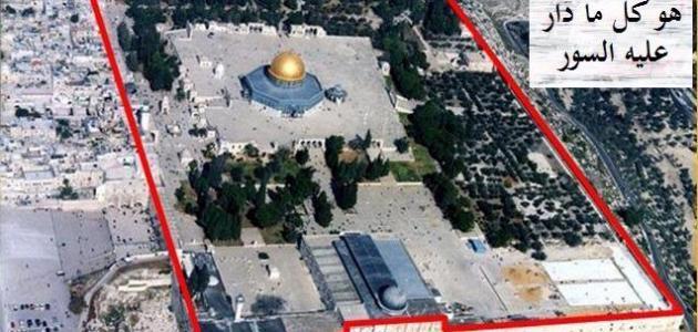 صورة جديد من الذي بنى المسجد الأقصى