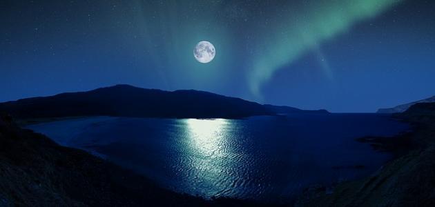 صورة جديد كلمات جميلة عن القمر