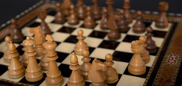 صورة جديد ترتيب قطع الشطرنج