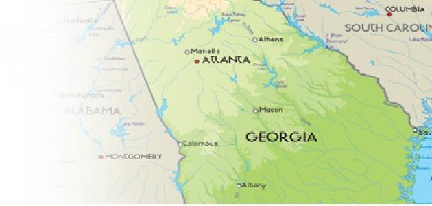 صورة جديد أين تقع جورجيا في أمريكا