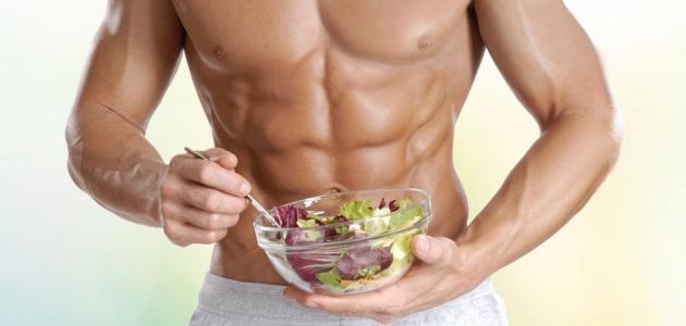 صورة جديد نظام غذائي لبناء العضلات وحرق الدهون