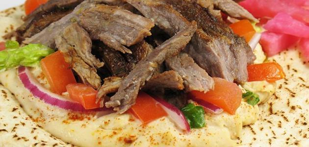 صورة جديد طريقة عمل شاورما اللحم