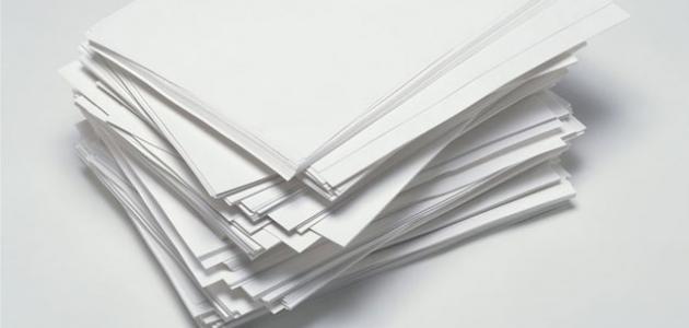 صورة جديد مراحل صناعة الورق