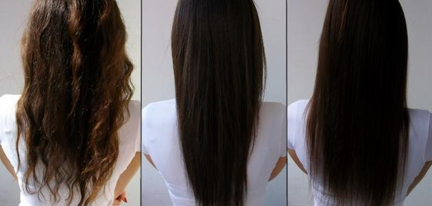 صورة جديد أضرار فرد الشعر بالبروتين