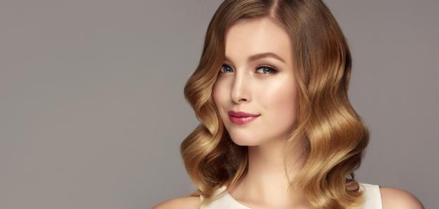 صورة جديد طريقة صبغ الشعر أشقر ذهبي