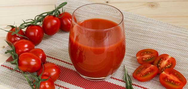 صورة جديد فوائد عصير الطماطم للبشرة