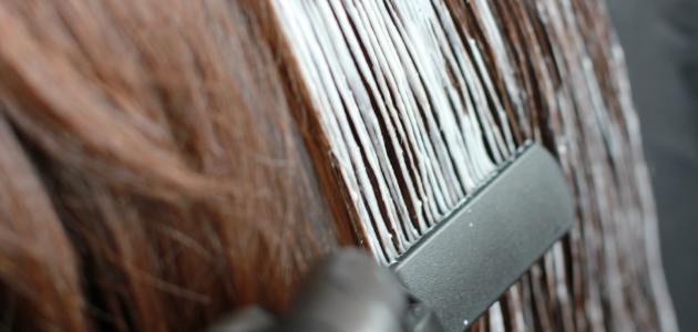 صورة جديد طريقة تفتيح الشعر بالصبغة