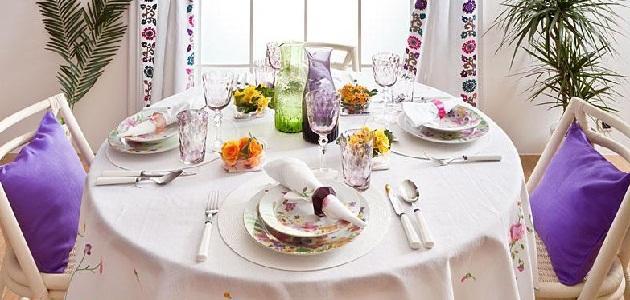 صورة جديد طريقة ترتيب طاولة الطعام