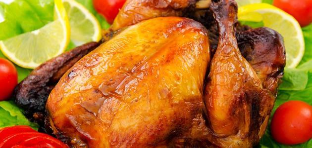 صورة جديد طريقة عمل الدجاج المشوي