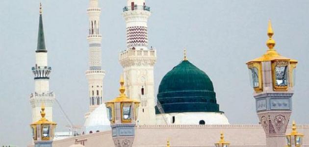 صورة جديد كم عدد منارات الحرم النبوي