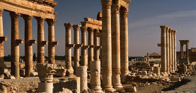 صورة جديد موضوع عن آثار تدمر